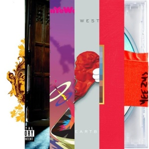 Kanye Albums (from tumblr)